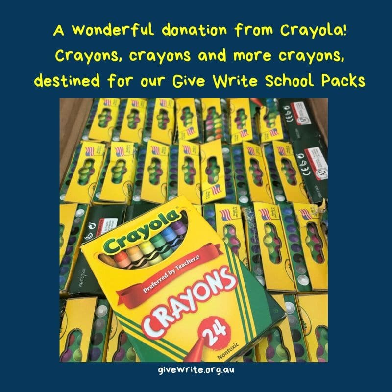 Thank you Crayola!