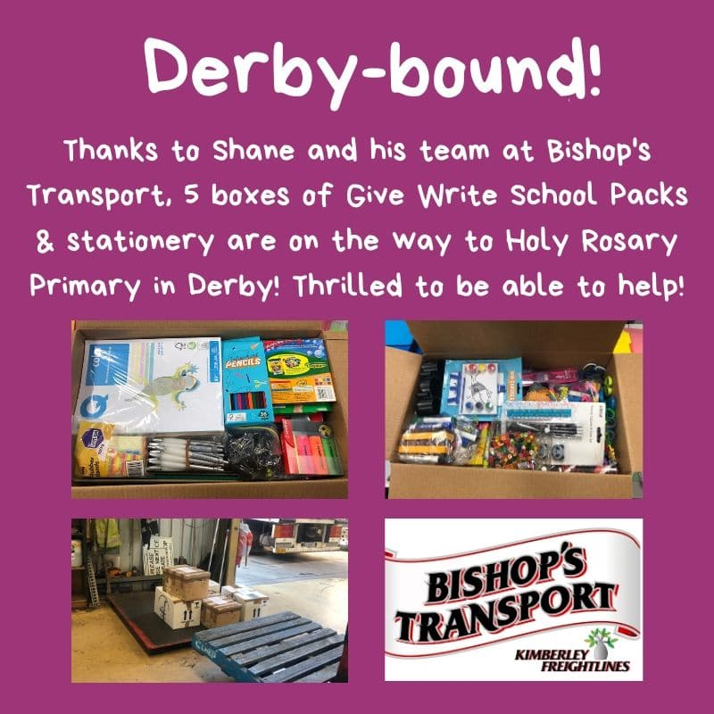 Thanks Bishop's Transport