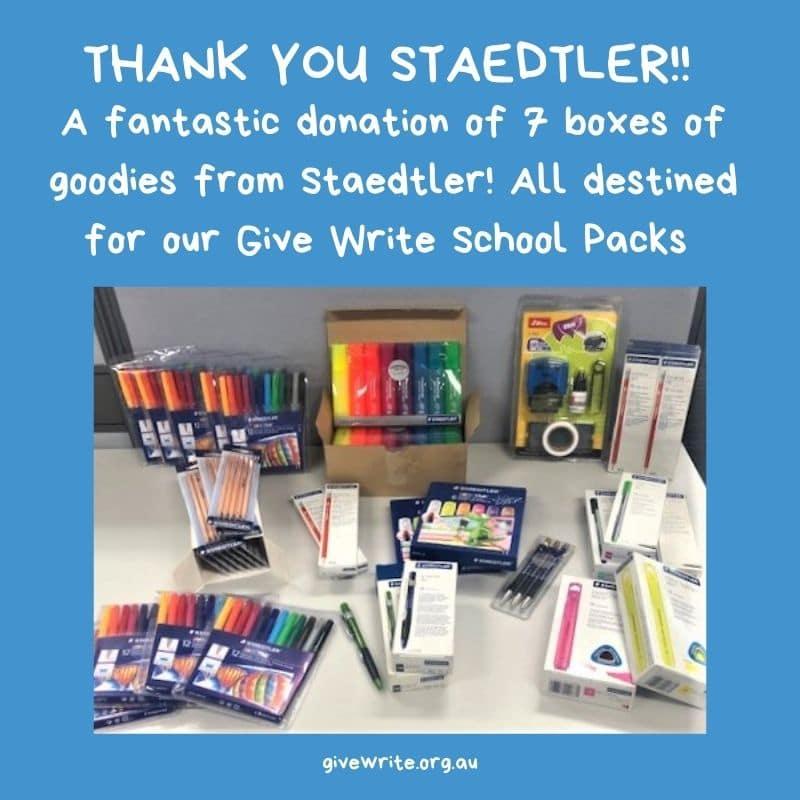 Thanks Staedtler!