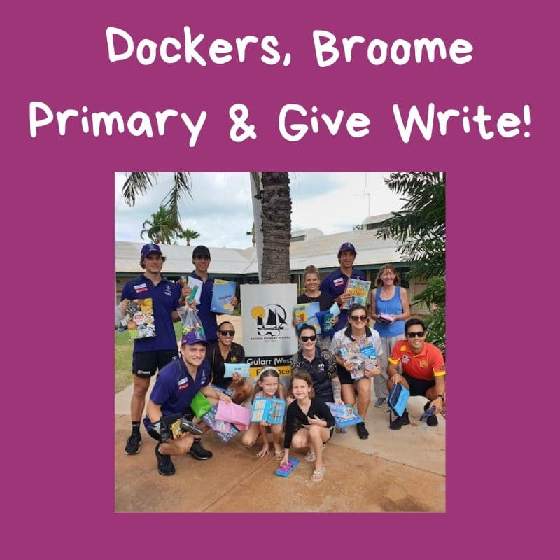 Dockers deliver for Give Write