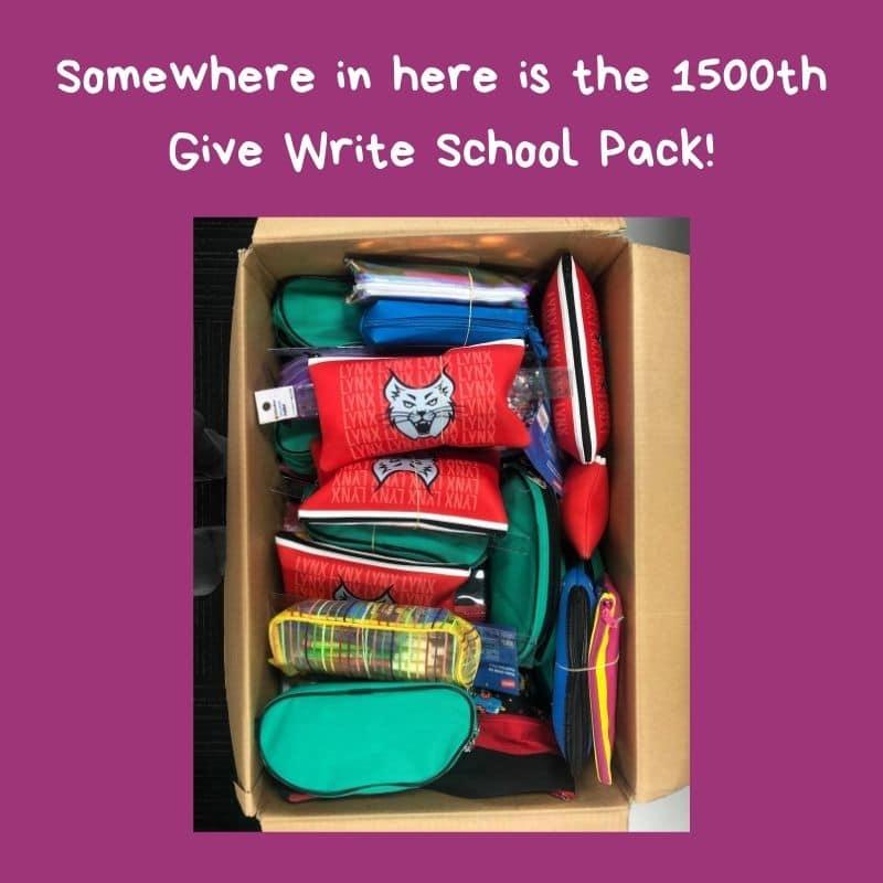 1500+ Give Write School Packs